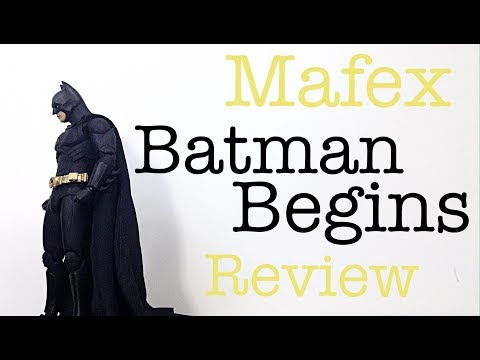 MAFEX Medicom Toy DC Batman Begins BATMAN Movie Action Figure Toy Review