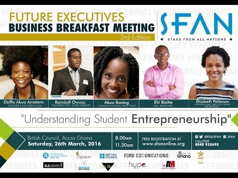 Future Executives Business Breakfast Meeting (3rd Edition)