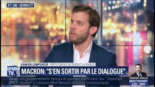 Gilets Jaunes : Damien Lempereur sur BFMTV