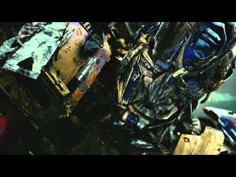 transformers rotf optimus prime ölüm sahnesi
