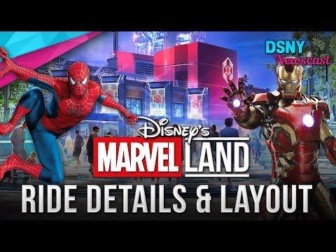 Crystal Rosas - Disneyland Has Plans To Launch Marvel Land