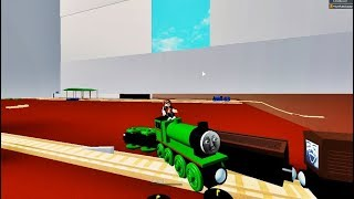 THOMAS AND FRIENDS Wooden Crashes Roblox Thomas the train!