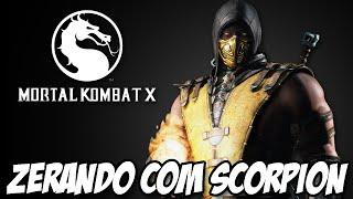 Mortal Kombat X - Zerando com SCORPION