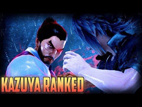 TEKKEN 7 Kazuya Ranked, Reaching For Revered Ruler!