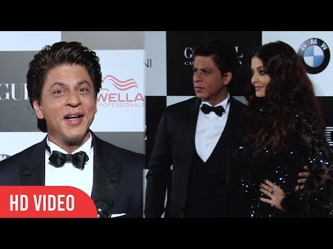 Shahrukh Khan at Vogue Women Of The Year Awards 2017 | wins Vogue Entertainer of the Decade Award