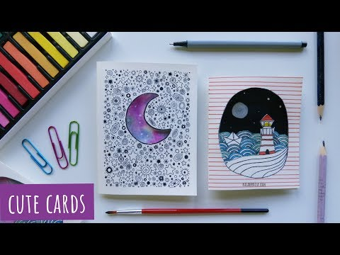 MAKING CUTE GREETING CARDS ❤ DIY GIFTS FOR BOYFRIEND