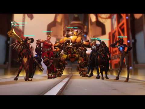 S3: Mercy final placement 2911 Watchpoint Gibraltar (Feat Radio and Saiyan)