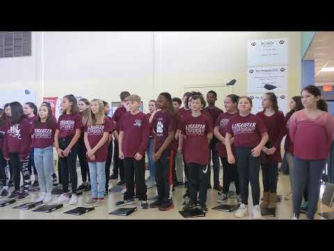 Leicester Middle School 5/6 Chorus: Blackbird