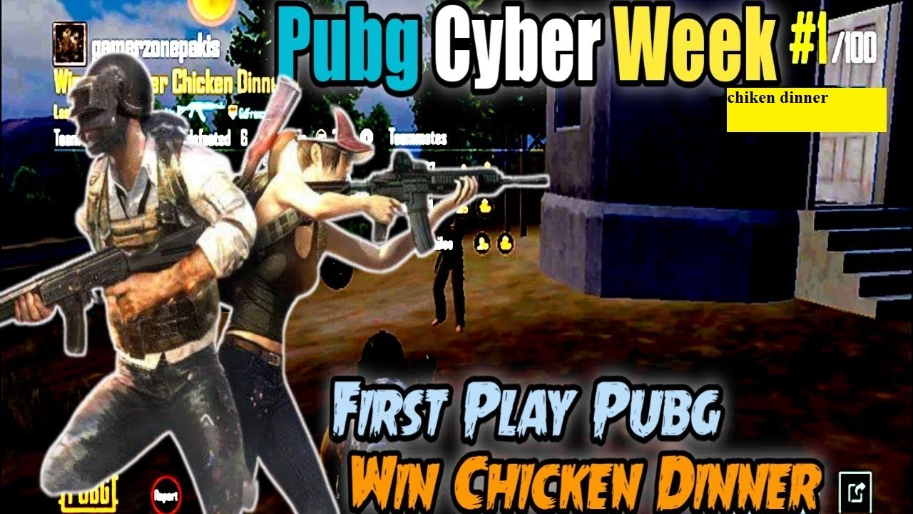 Pubg Cyber Week Online Gameplay Winner Chicken Dinner First Time Play Pubg Live Game 2021 Youtube
