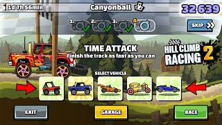 Hill Climb Racing 2 - 32639 POINTS IN CANYONBALL TEAM EVENT