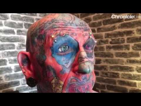 """I'M ADDICTED"" : PAUL ALLEN GETS 800 TATTOOS IN JUST NINE YEARS"