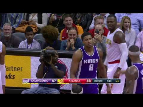 Sacramento Kings vs Atlanta Hawks | October 31, 2016 | NBA 2016-17 Season