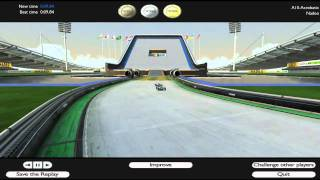Trackmania united forever 3d gameplay PC (crazy record)