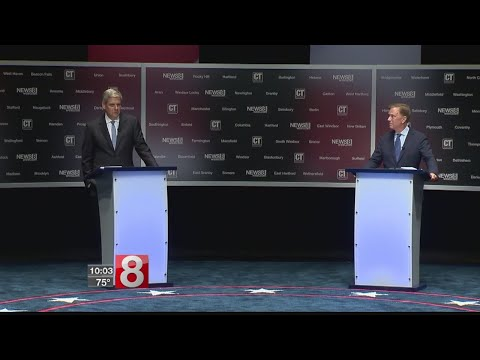 Lamont and Stefanowski trade verbal blows in second head-to-head debate