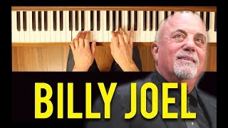 This is the Time (Billy Joel) [Easy-Intermediate Piano Tutorial]