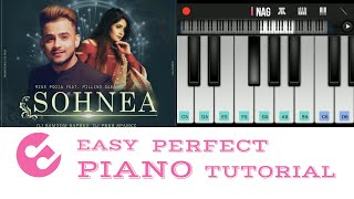 Gambar cover SONG - SOHNEA || MISS POOJA FEAT. MILLIND GABA || Haaye O meri jaan na ho pareshan || Piano tutorial