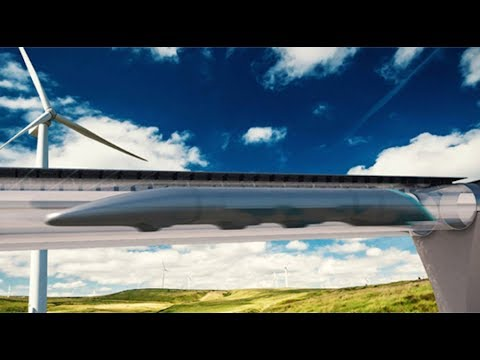 Magnetic levitation: Montreal-Toronto Hyperloop train on its way