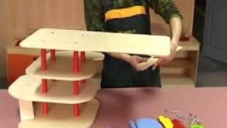 Wooden Toy Wooden Garage G2.avi