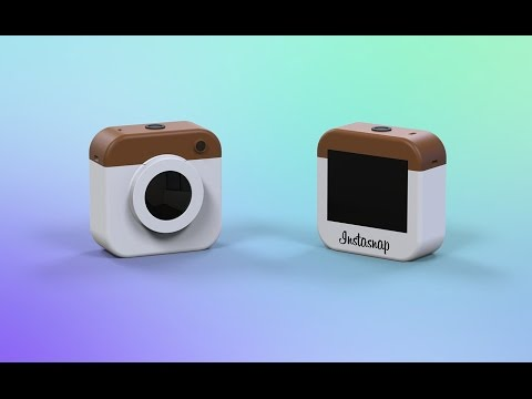 Instagram Social Media Camera || Concept || HD