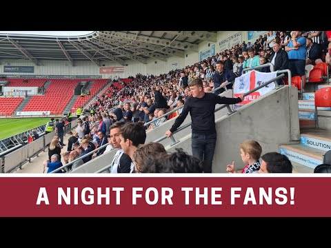 MATCH VLOG!   Fans are IMMENSE!   Doncaster 2-3 Newcastle