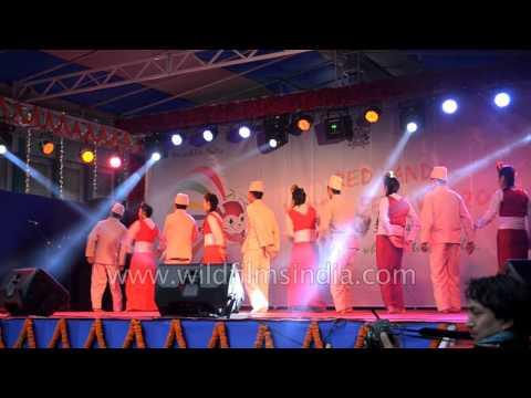 Limbu dhan dance from Sikkim