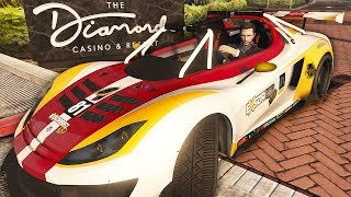 I Won The Car, and Then Gave it Away - GTA Online Casino DLC