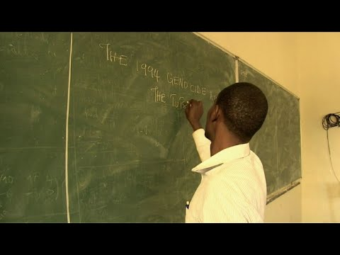 Rwanda schools face tricky task teaching genocide history