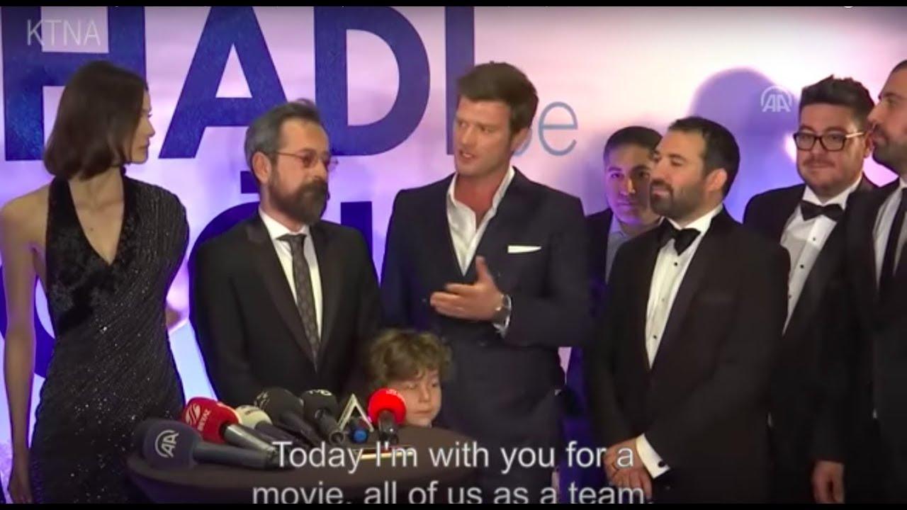 Hadi Be Oğlum film premier ❖ Kivanc Tatlitug & Alihan Türkdemir ❖ English  subtitles