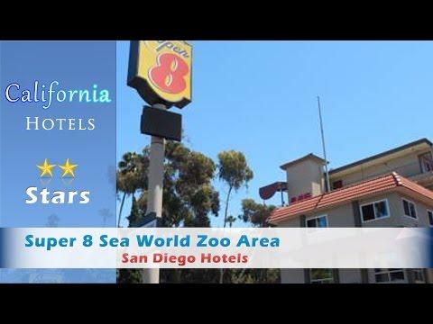 Super 8 Sea World Zoo Area, San Diego Hotels - California
