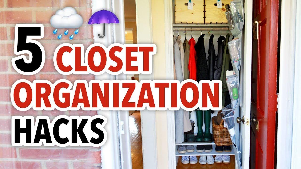 5 Closet Organization Hacks For Winter   HGTV Handmade