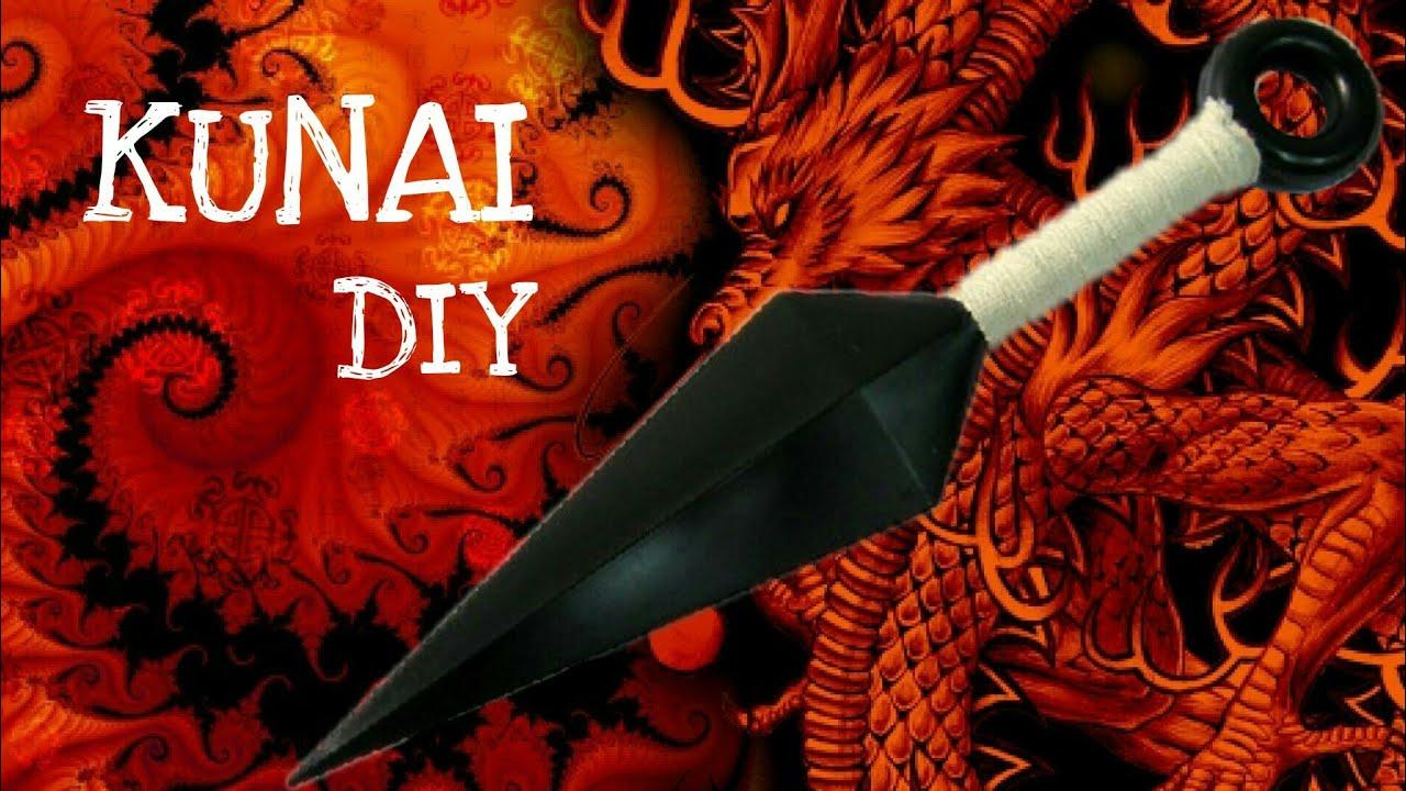 How to make a paper ninja kunai knife