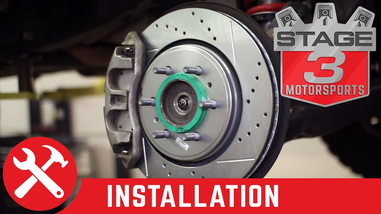 Power Stop Brakes >> 2015 2018 F150 Raptor Power Stop Z36 Complete Brake Kit Install
