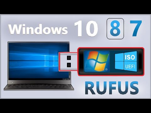 Windows 10 -8 -7. Format Usb Flash Hazırlamak [UEFI - Normal] İnstaller ISO Files /win 7 To Usb /Pc