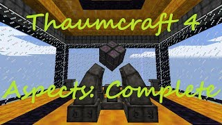 A Complete Guide To Thaumcraft 4 - The Complete Aspects List (Combinations Included)