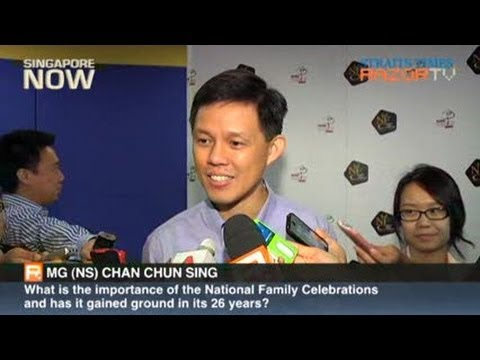 Interview with MG Chan Chun Sing