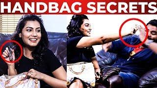 'Why I Use Pepper Spray?' – Charlie Chaplin 2 Chandhana Handbag Revealed | What's Inside the HANDBAG