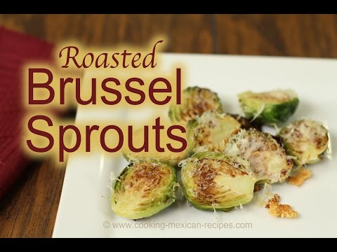 How To Cook Garlic Roasted Brussel Sprouts | Quick Recipe | Rockin Robin Cooks