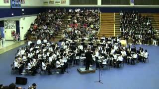 """Celtic Air and Dance"" by the Beginning Honor Band@2010 Parade of Honor Bands"
