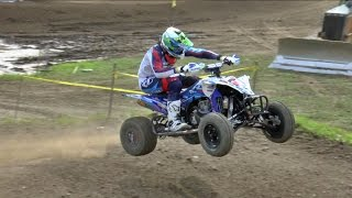 Unadilla ATV Nationals 2016 Raw Footage Pro Moto 1 and 2 Full Race