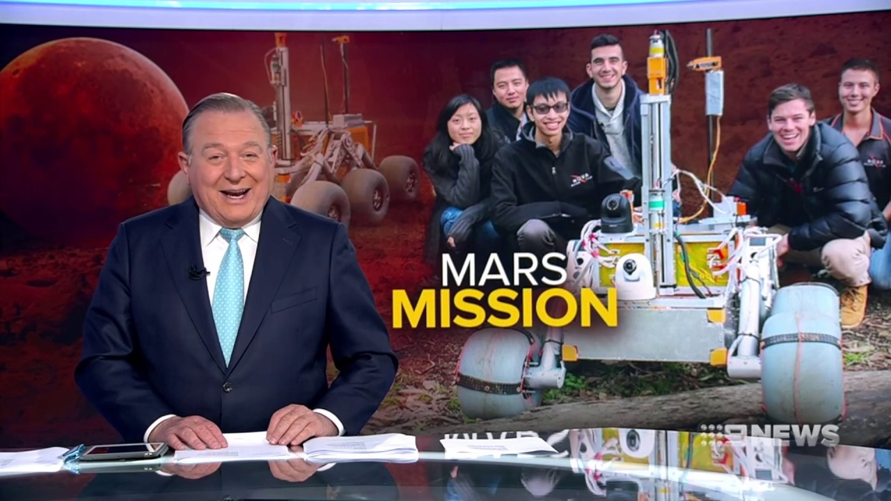Nova Rover Channel 9 News with Allan Raskall