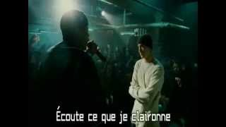 Eminem vs Luckety Split - Clip HD [TRADUIT EN FRANCAIS]
