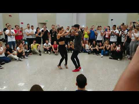 Esteban y Miriam  dance Bachata @Bachata Masters Milano 2017