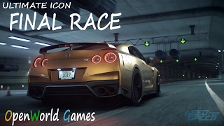Need For Speed 2015 | FINAL RACE (Ending) | Gameplay with Nissan GTR  (PS4)  | Ultimate Icon HD