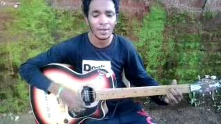 Yesu ka darbar new guitar cover by ayush