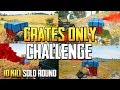 PLAYERUNKNOWN'S BATTLEGROUNDS BEGINNERS CRATES ONLY CHALLENGE! GROZA + M24! PUBG LIVE!