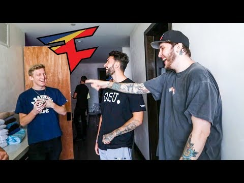 TFue Moves into the FaZe House!