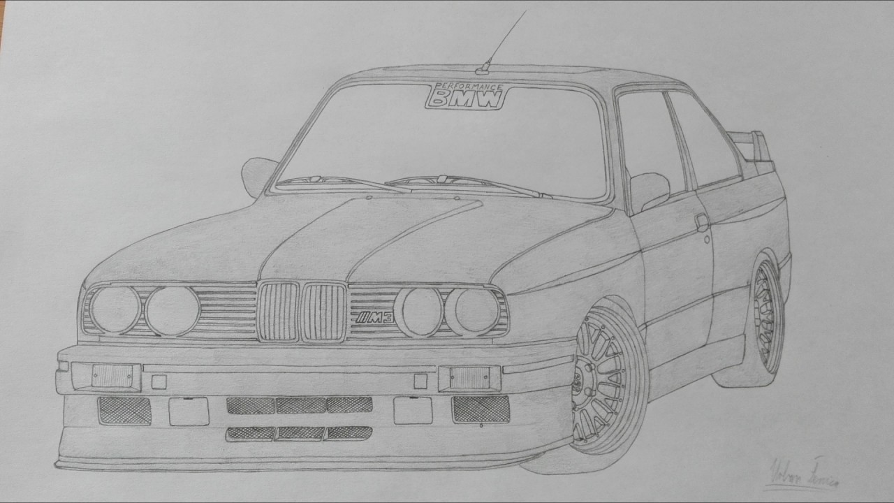Car Drawing. - YouTube