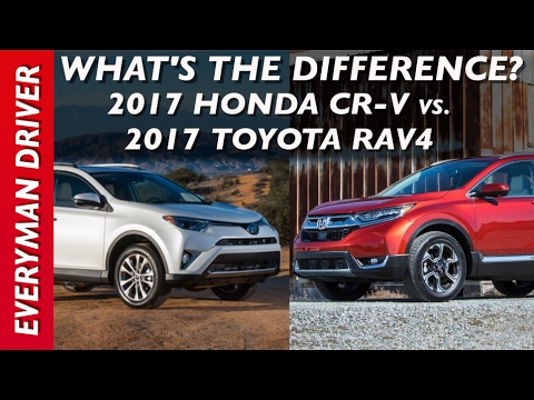 What 39 s the difference 2017 honda cr v vs 2017 toyota rav4 for 2017 honda crv vs toyota rav4