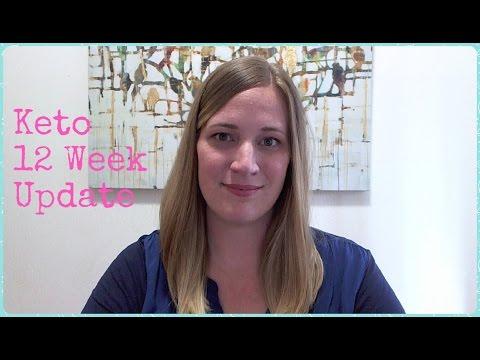 Keto Diet 12 Week Update & Weigh In - Weight Loss Journey - Ketogenic Diet - YouTube