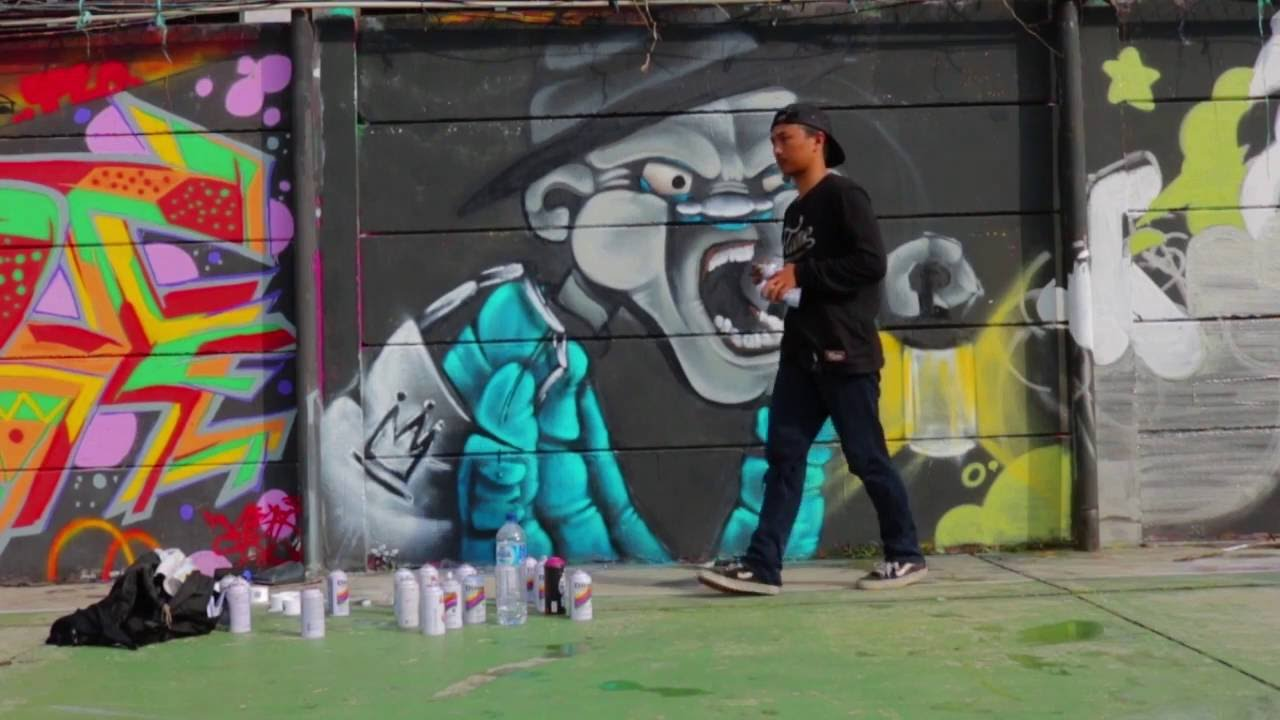 Graffiti Ria Bersama Miftah Ragis Sidiq